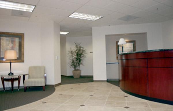 Receptionist Welcoming Area - Cerritos Virtual Office