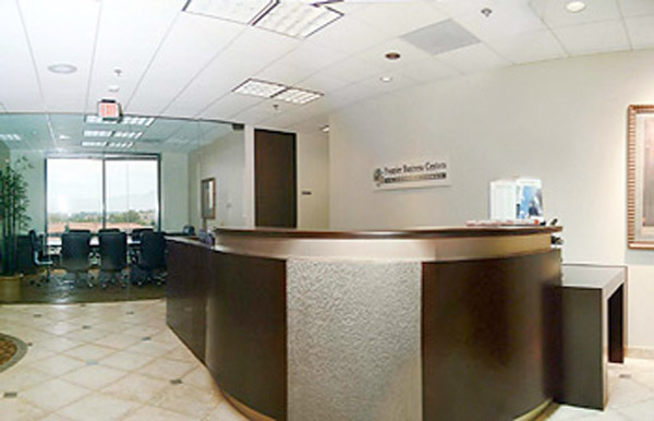 Stylish Entrance Lobby - Virtual Office in Irvine