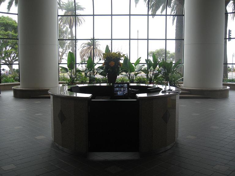 Receptionist Welcoming Area - Santa Monica Virtual Office