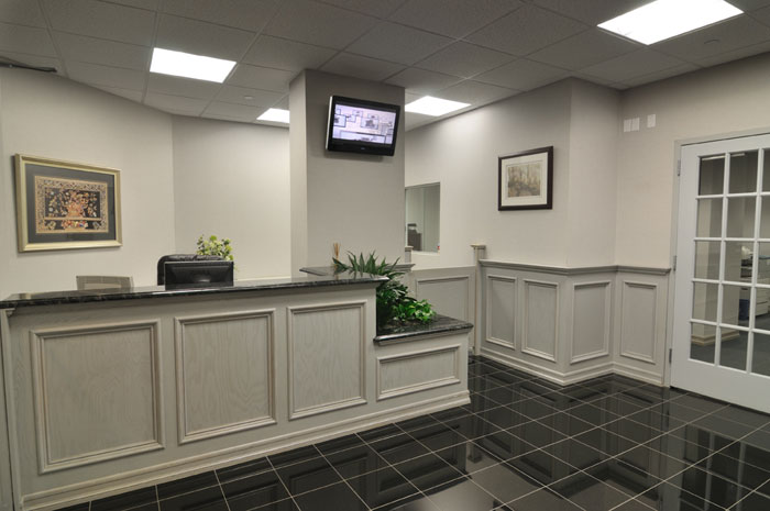 Stylish Entrance Lobby - Virtual Office in Melville, NY