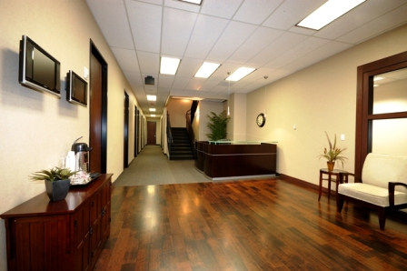 Stylish Entrance Lobby - Virtual Office in Dallas