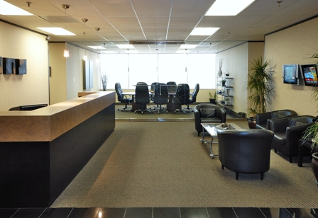Receptionist Welcoming Area - Dallas Virtual Office