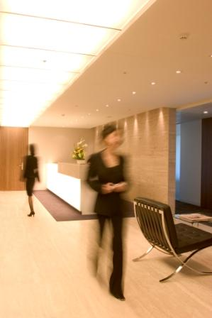 Stylish Entrance Lobby - Virtual Office in Beijing