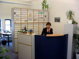 Stylish Entrance Lobby - Virtual Office in Potsdam