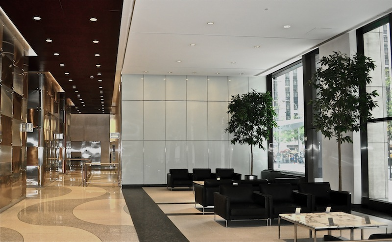 Receptionist Welcoming Area   New York Office