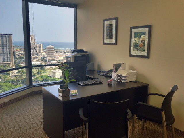 Honolulu Office Space And Virtual Offices At Bishop Street