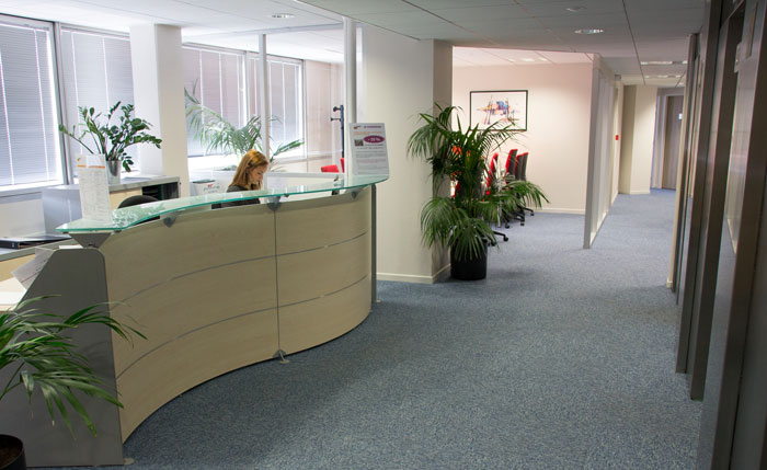 Toulouse office space and virtual offices at esplanade compans caffarelli for Buro services toulouse