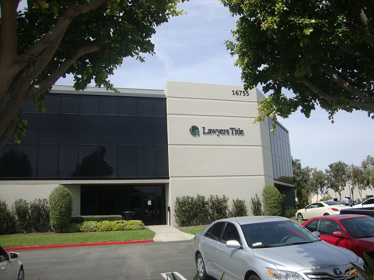 Irvine Business Address - Building Location