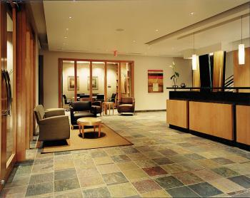 Receptionist Welcoming Area - Scottsdale Office