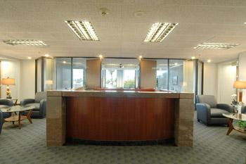 Receptionist Welcoming Area - Pasadena Office