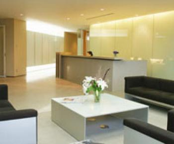 Comfortable Entrance Lobby - Office in Tokyo