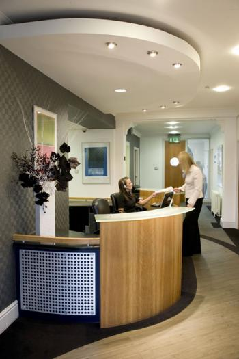 Receptionist Welcoming Area - Bristol Office