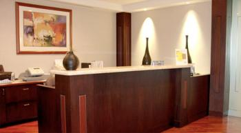 Receptionist Welcoming Area - Irvine Office