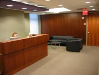 Receptionist Welcoming Area - New York Office