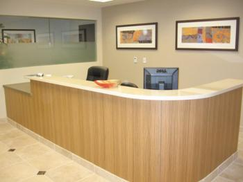 Receptionist Welcoming Area - Panorama City Office