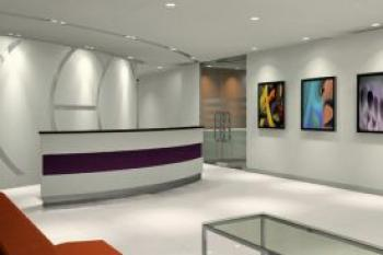 Comfortable Entrance Lobby - Office in Makati City