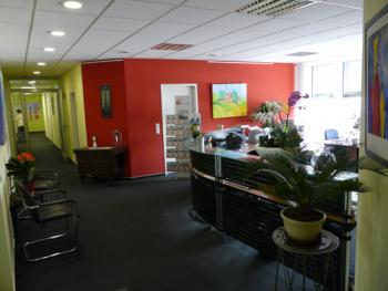 Receptionist Welcoming Area - Saarbrucken Office