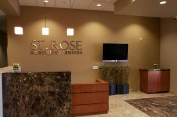 Receptionist Welcoming Area - Henderson Office