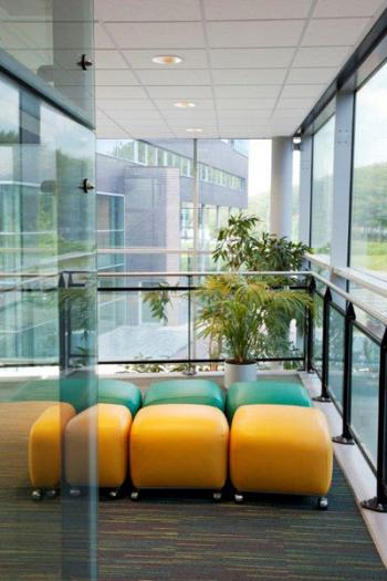 Almere Office Space - Accommodating Commons Area