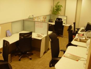 Gurgaon Office Space - Accommodating Commons Area