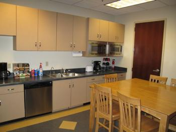 Break Area in this Rancho Cucamonga Office Space