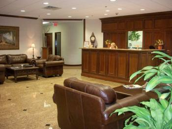 Receptionist Welcoming Area - Boca Raton Office