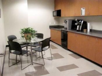 Break Area in this Salt Lake City Office Space
