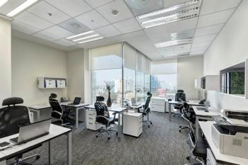 Mexico City Office Space - Accommodating Commons Area