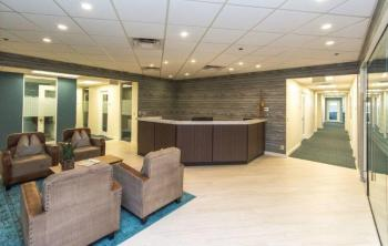 West Palm Beach Office Space - Accommodating Commons Area