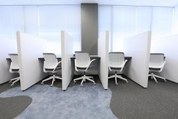 Honolulu Office Space - Accommodating Commons Area
